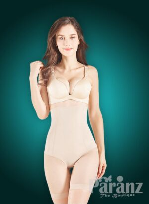 High waist slimming mid-body shaper with perfect compression all over