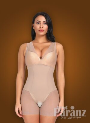 V cut neckline full body shaper with advanced waist slimming new
